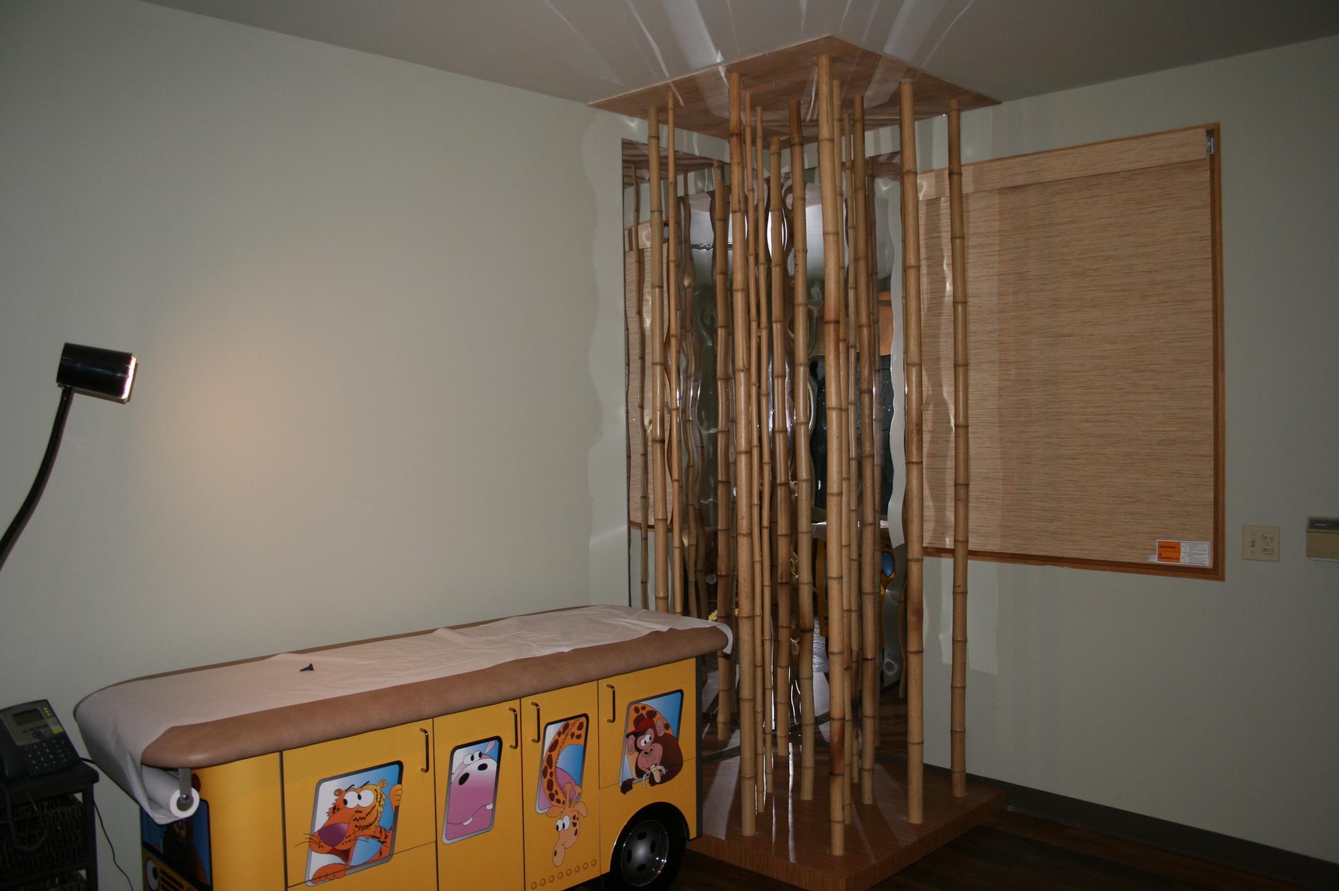 Pediatric Exam Rooms