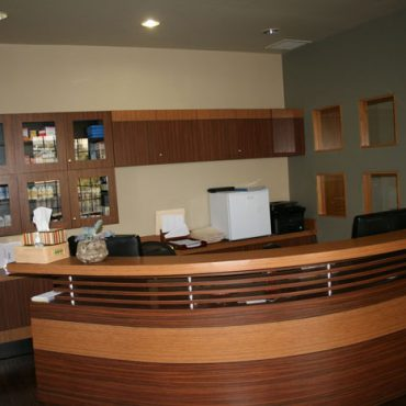 Reception Area Pediatric Office