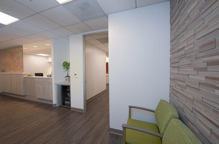 Reception/Waiting Area Skincare Office