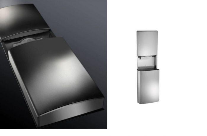 ASI 20469, Roval(TM) Recessed Paper Towel Dispenser & Waste Receptacle List $950