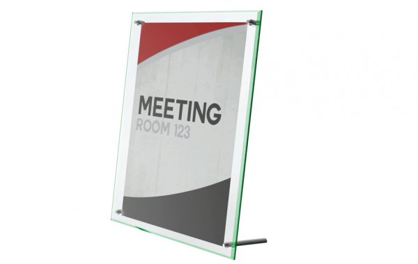 Superior Image Beveled Edge Sign Holder 8-1/2″ x 11″ List $24