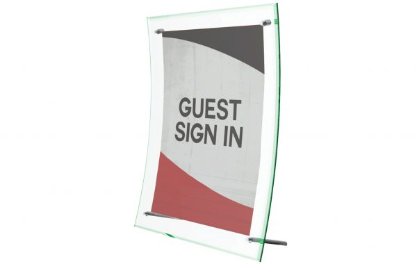 Superior Image Curved Sign Holder 8-5x 11 List $20