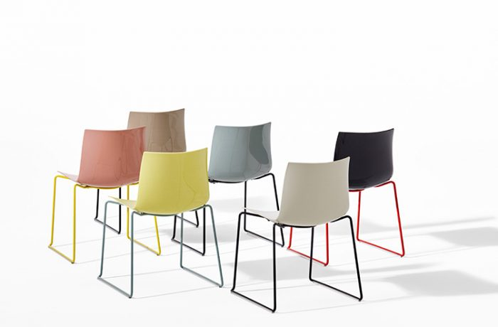 Arper Furniture Price List Cila Sled Base Chair Cila Collection By Arper Design 1000 Ideas