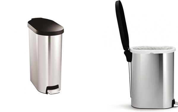 Simplehuman 45 litre slim step can List $80
