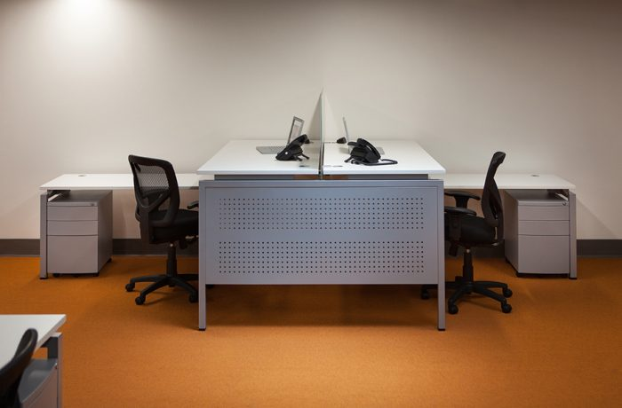 CD Facing L-Shaped Desks list $6073