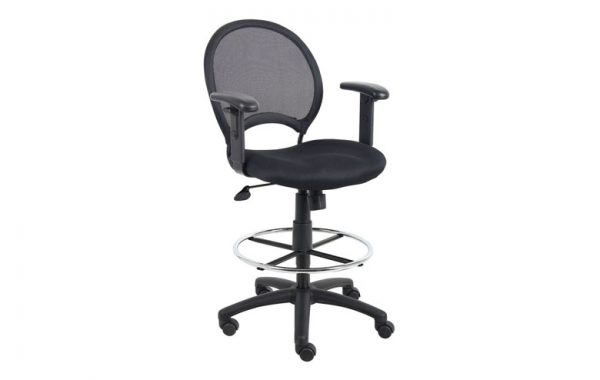 Boss B16216 Black Mesh Stool List $270