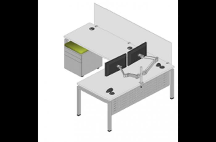 Clear Design 30×60 Desk list $4568