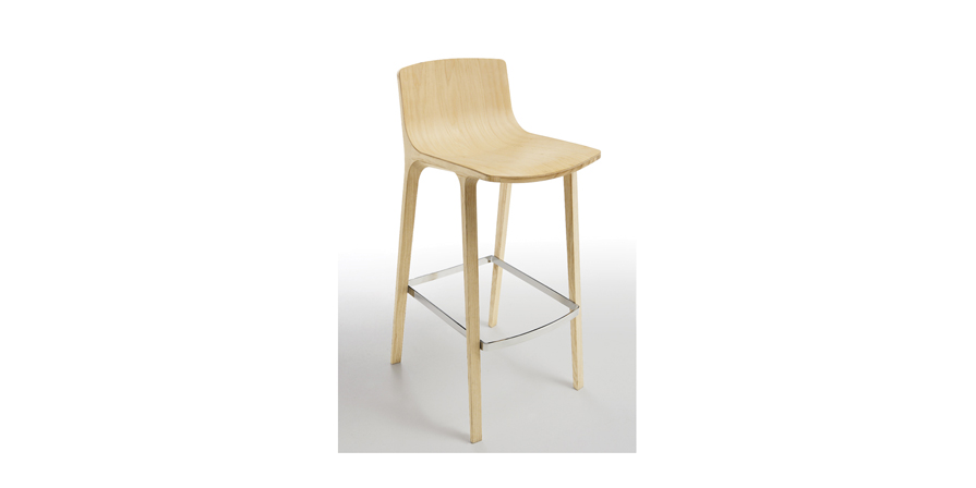 Stimex Emma Barstool Solid Wood/Multiple Finishes