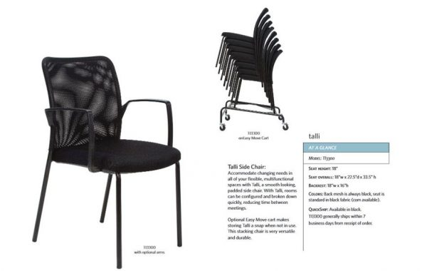 Valo sync side chair LIST $397