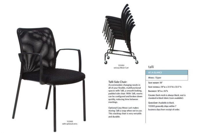 Valo sync side chair LIST $397