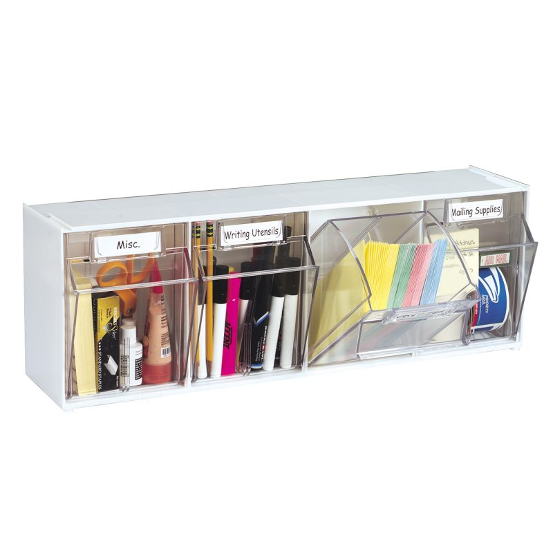 4 Bin Unit White List $70  sc 1 st  Probelle & Storage | Probelle