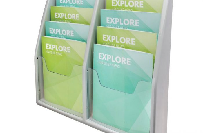 8 Compartment Literature Display List $138