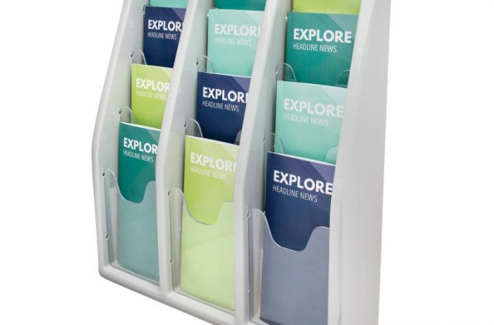 12 Compartment Literature Display List $155