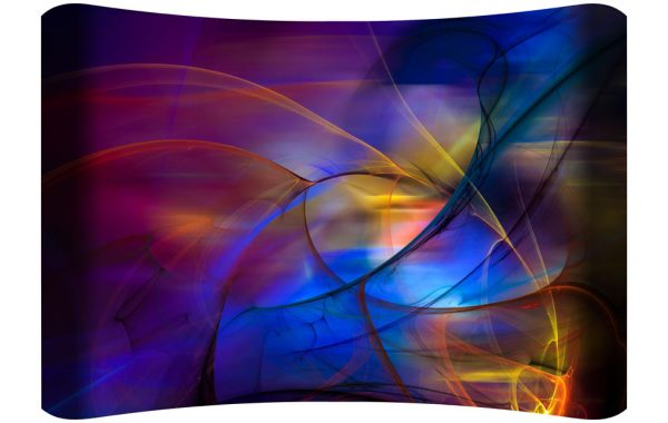 Bejeweled Curved Wall Art $149.99