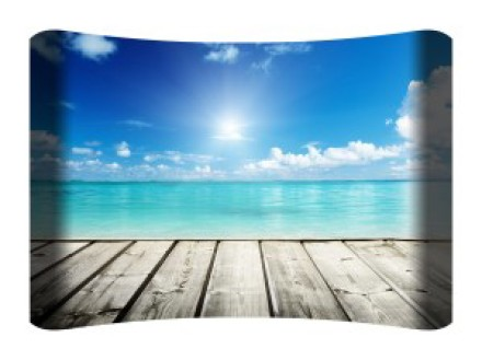 View from Dock Curved Wall Art $149.99