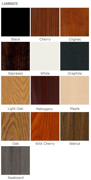 Laminate colors