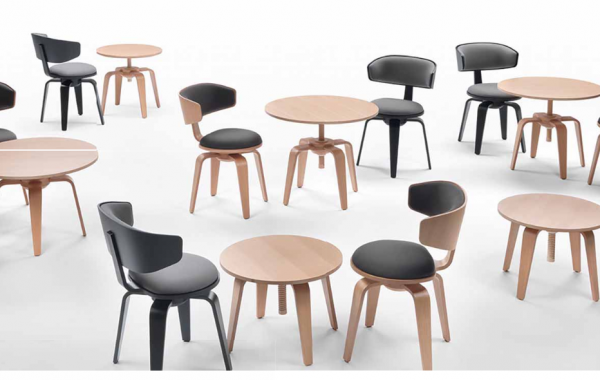 Pivot Chair and Table